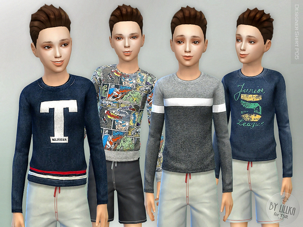 The Sims Resource: Designer Shirt P05 by lillka