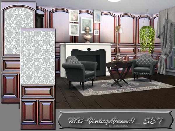 The Sims Resource: Vintage VenueI set by matomibotaki