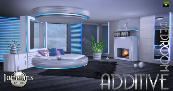 Jom Sims Creations Additive Bedroom Sims 4 Downloads