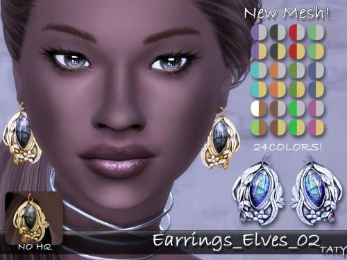 Taty: Elves 02 earrings