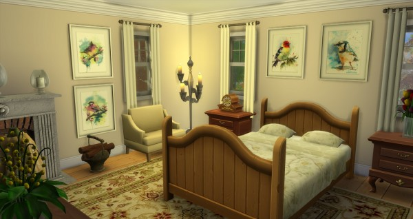 Mod The Sims: Autumnal Colonial  by gizky