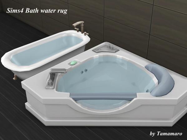 Tamamaro: Bath water rug