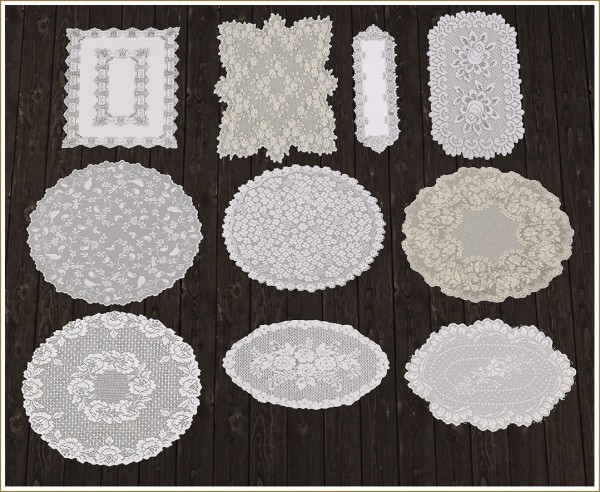 Sims 4 Designs: Wind Blown Curtains, Antique Mirrors and Victorian Lace Rugs Vol1