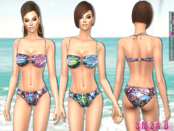 The Sims Resource: 218   Swimwear set by sims2fanbg