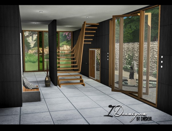 Sims 4 Designs: Pivoting Windows and Sculptural Stairs