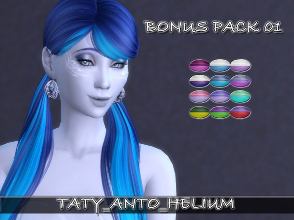 Taty: Anto`s Helium hairstyle retextured