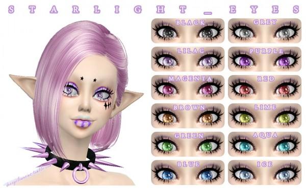 Decay Clown Sims: Starlight  Eyes