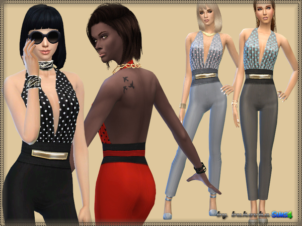 The Sims Resource: Overalls Suzie by bukovka