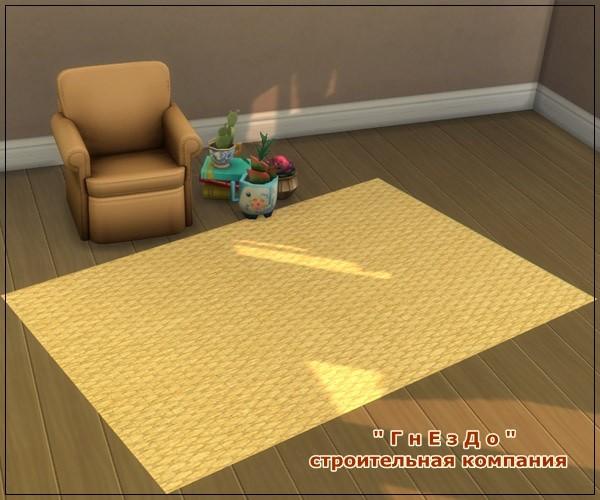 Sims 3 by Mulena: Braids carpets
