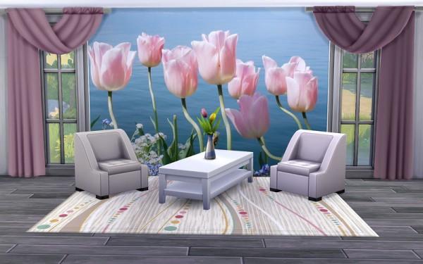 Ihelen Sims: Mural Tulips