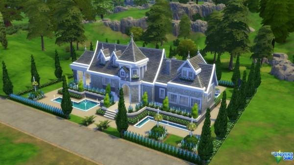Luniversims: Manor blue