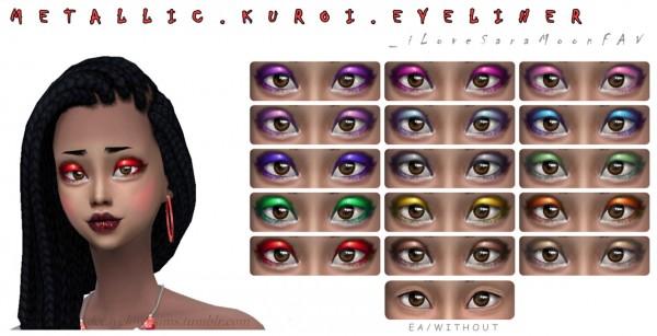 Decay Clown Sims: Metalic eyeshadow