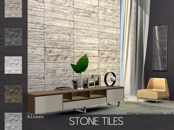 The Sims Resource: Stone Tiles by Rirann