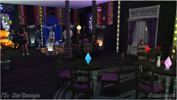 Ihelen Sims: Club Spooky Velvet by Zzz Danaya