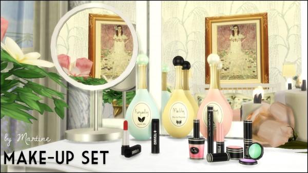 Martine Simblr: Make up set