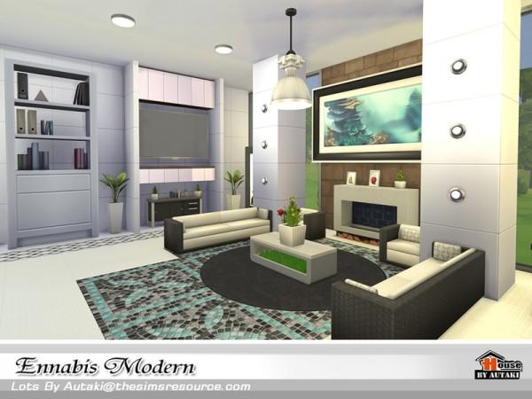 The Sims Resource: Ennabis Modern house by autaki