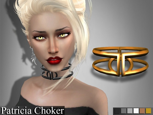 The Sims Resource: Patricia Choker by Genius 666