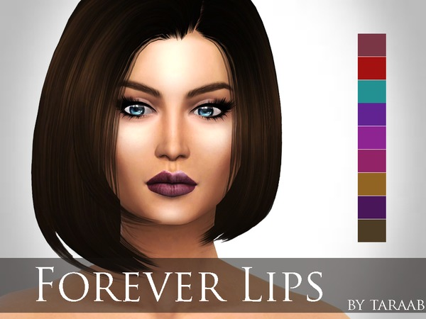The Sims Resource: Forever Lips by taraab
