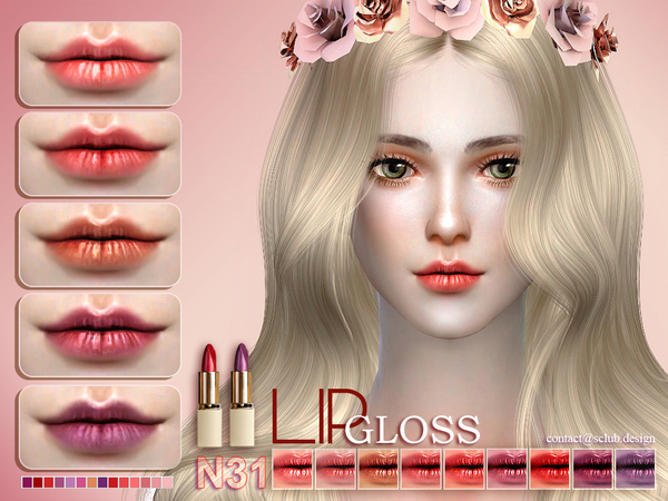 The Sims Resource: Lipstick 31 by S Club