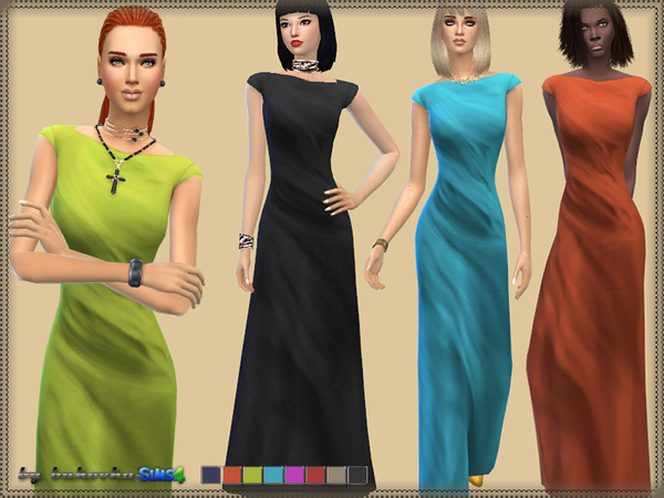 The Sims Resource: Dress Aphrodite 2 by bukovka