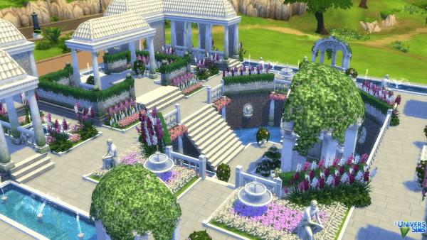 Luniversims: Gardens romantic