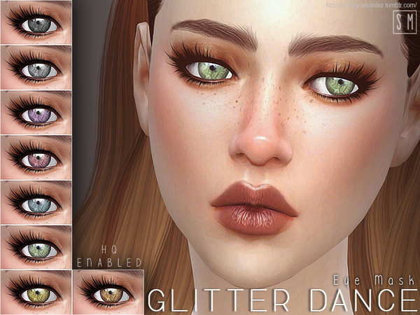 The Sims Resource: Glitter Dance   Eye Mask by Screaming Mustard