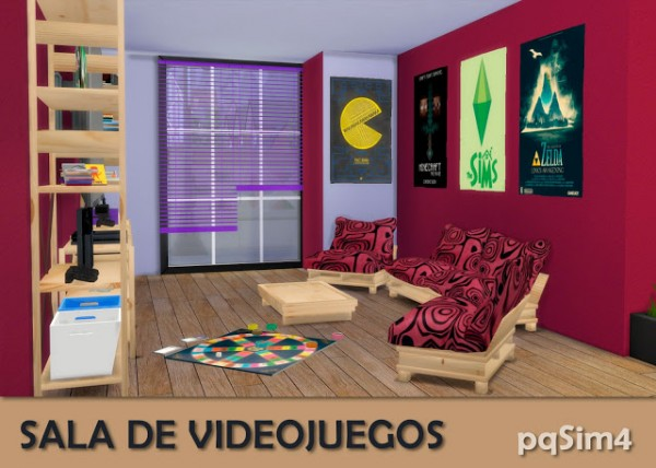 PQSims4: Videogame room