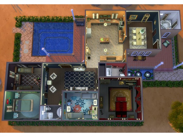 The Sims Resource: Solariega  house by Degera