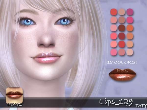 The Sims Resource: Lips 129 by Taty