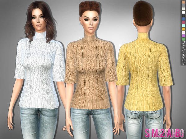 The Sims Resource: 223   Knitwear by sims2fanbg