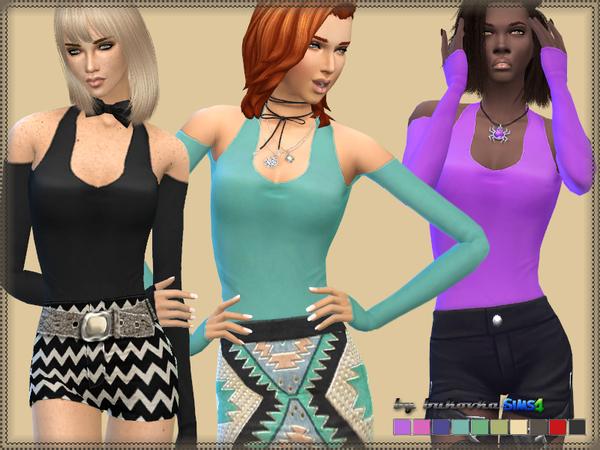 The Sims Resource: Sleeve Shirt by Bukovka