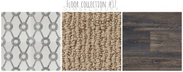 Sims4Luxury: Floor collection 17