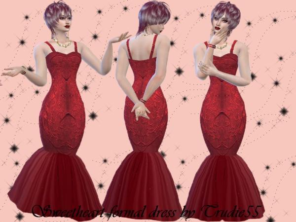 Trudie55: Sweetheart formal dress