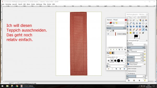 Annett`s Sims 4 Welt: How do I cut carpets made in gimp?