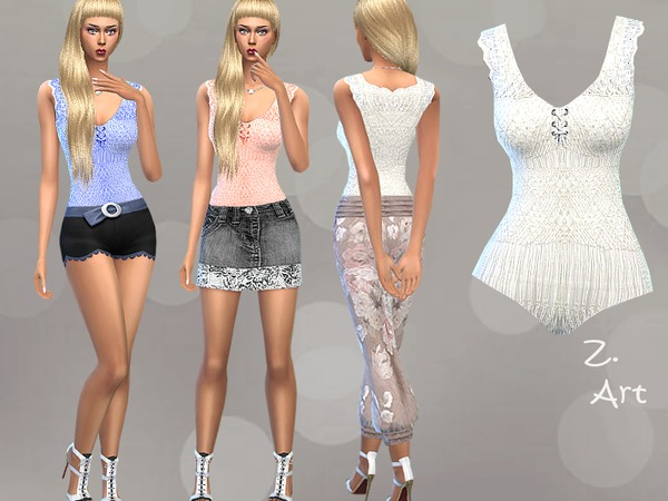 The Sims Resource: Body Form II by Zuckerschnute20
