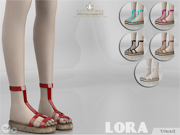 The Sims Resource: Madlen Lora Shoes by MJ95