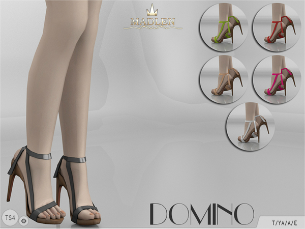 The Sims Resource: Madlen Domino Shoes by MJ95