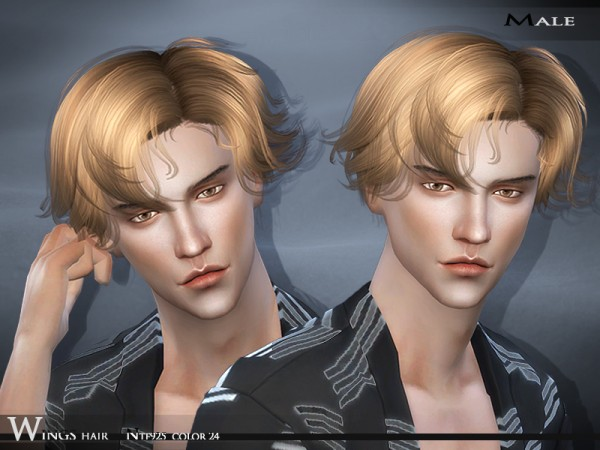 The Sims Resource Wings Hair Ntf925 Sims 4 Downloads
