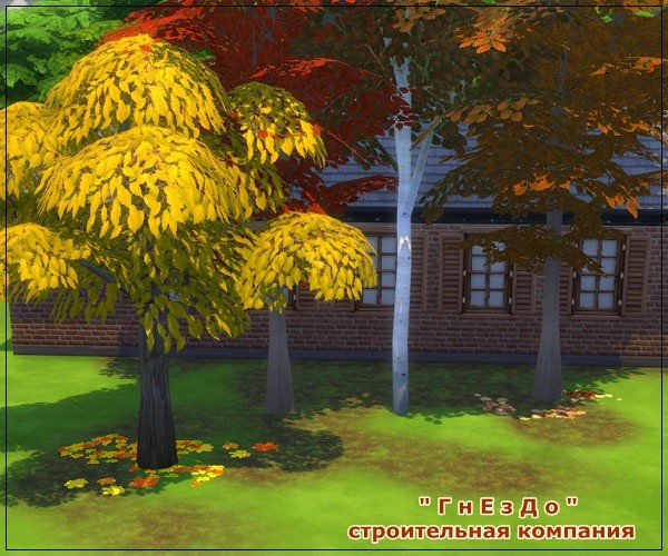 Sims 3 by Mulena: Autumn time