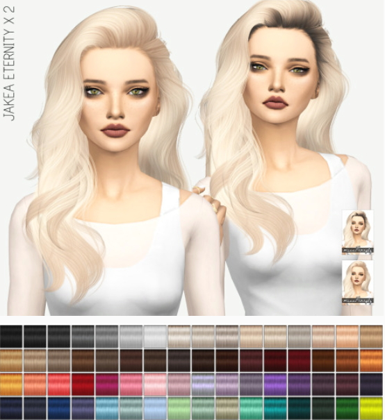 Sims 4 Cc S The Best Windows By Tingelingelater: Miss Paraply: Jakea Eternity Hair: Solids And Dark Roots
