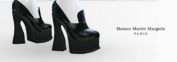 MA$ims 3: Margiela Heeled Loafers