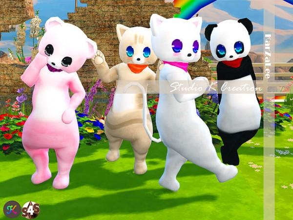 Studio K Creation Bear Amp Cat Costume Sims 4 Downloads