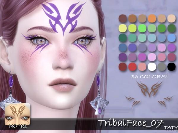 Simsworkshop: Tribal Face by Taty