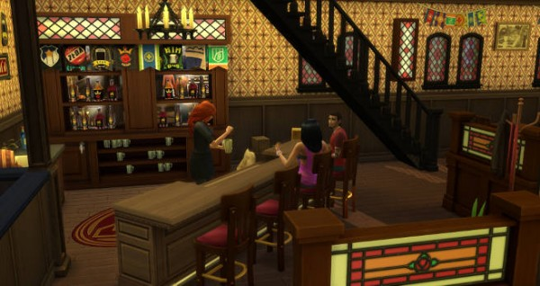 Blackys Sims 4 Zoo: Old Town Pub by Sims Atelier