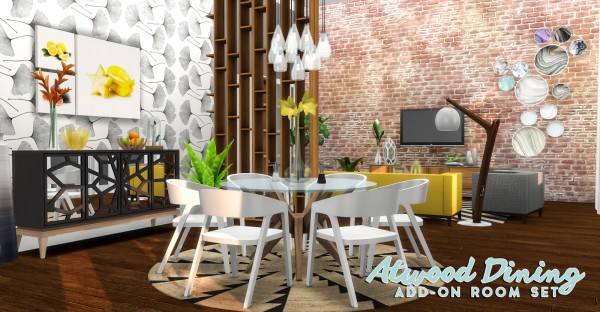 Simsational designs: Atwood Dining   Content Collection Addon