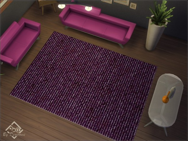 The Sims Resource: Rough Rugs by Devirose