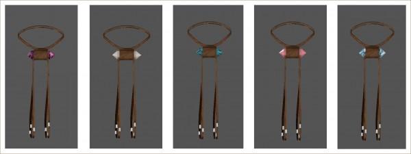 Sims 4 Designs: High Noon Crystal Choker