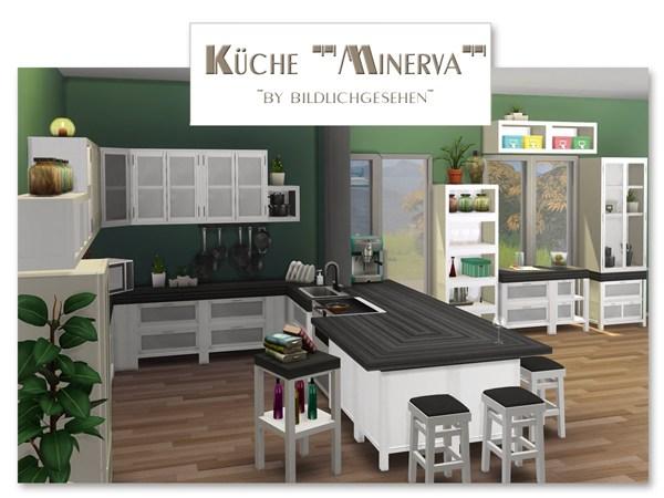 Akisima Sims Blog: Minerva kitchen