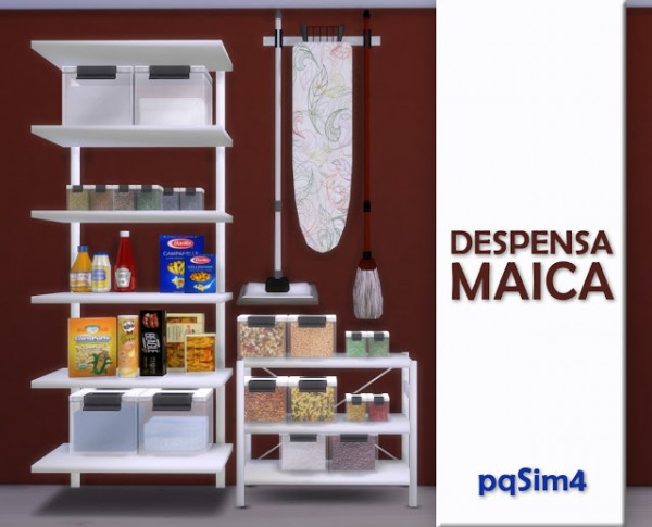 PQSims4: Pantry Maica