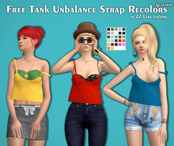 Tukete: Free Tank Unbalance Strap